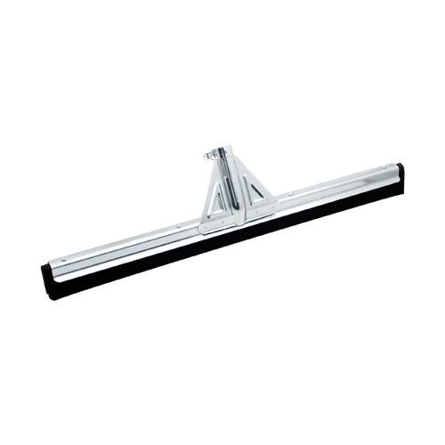 Carlisle 36682400 Flo-Pac Soft Double Foam Rubber Squeegee with Heavy Duty Metal Frame and Threaded Socket, 22