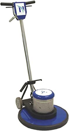 "NaceCare NA17 Structural Foam Single Speed Floor Machine, 17"" Brush, 175 rpm, 2 Gallon Capacity, 1.5HP, 50' Power Cord Length"