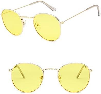 retro John Lennon Occhiali da sole rotondi Occhiali da vista classici in metallo Occhiali da vista vintage Hippie Occhiali da vista LHKQ Occhiali da sole per uomo Donna
