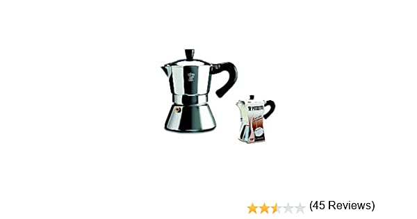 Pezzetti Ghidini Cipriano 1033100 Induzione Bellexpress - Cafetera Italiana (para 3 Tazas, 8,5 cm de diámetro, Apta para inducción): Amazon.es: Hogar