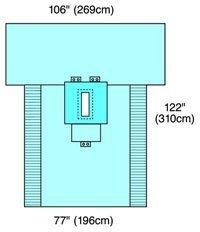 29138 PT# 29138- Laparotomy Pack Convertors Iso-Bag Sterile LF 10/Ca by, Cardinal Health