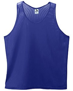 Augusta Sportswear Men's Mini Mesh Singlet, PURPLE, XXX-Large