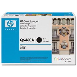 HP Laserjet 644A  Black Cartridge in Retail Packaging (Q6460A), Office Central