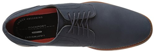 Rockport Herenstijl Doel Effen Teen Oxford Navy Nubuck