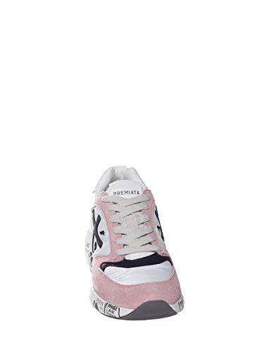Sneaker Disegnata In Con Premiata Tecnico Camoscio E Tessuto Gomma Para OnqqS6waz