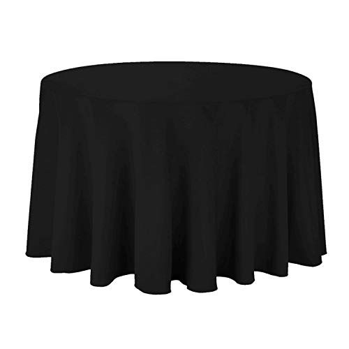 108 Inch Round Tablecloth - ABCCANOPY Round Tablecloth 108