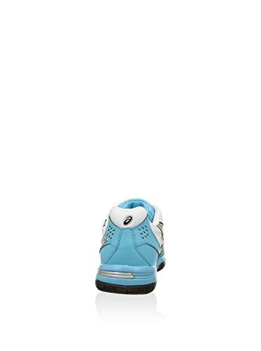 Asics Zapatillas de Tenis Gel-Padel Plata / Blanco EU 39 (US 7.5)