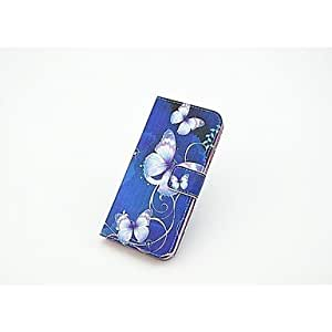 QYF Flowers Pattern Full Body Case with Stand and Card Slot for iPhone 6