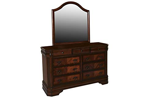 New Classic Furniture 05-005-062 Sheridan Youth Mirror, Burnished Cherry