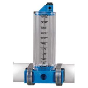 Rola-Chem Side Mount Flow Meter for 2'' PVC Side Mount by Rola-Chem
