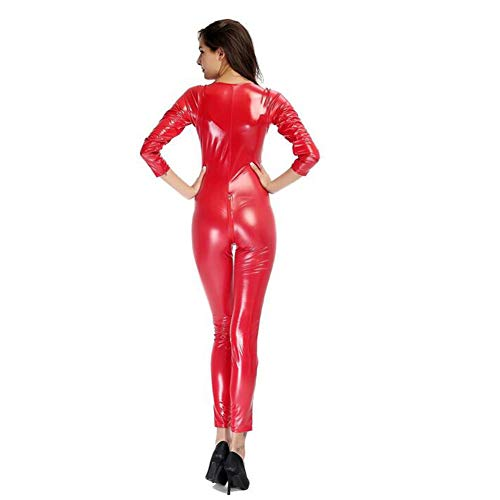 Catsuit Catsuit Mono Mono Para Rosso Para Mujer 6wBEPq