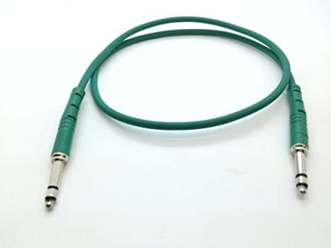 Bantam Jack Rean Neutrik Patch Lead 4.4mm TT cable 1FT 2FT 3FT NRA-TT Best Price 300mm, Red