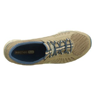 nbsp;Big Skechers Idea Taupe Gratis Sneakers Blue Damen a7P7S8nq
