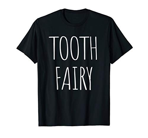 Tooth Fairy Costume T-Shirt Cute Halloween Idea -