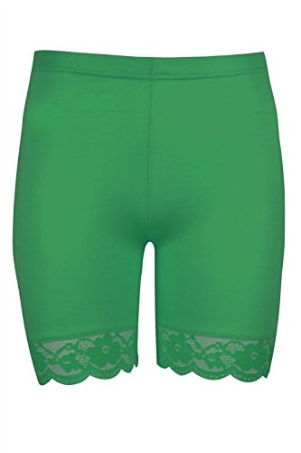 Cycle Summer Celebrity The Fashion Celebrity Plain Donna Basic Pantaloncini Green Jade zzRFgqUw