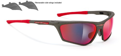 Rudy Project Zyon Graphite Frame With Multilaser Red - Rudy Project Sunglasses Zyon