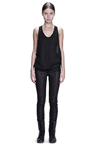 Cotton & Silk Racer Back Tank Top by Corvus + Crux