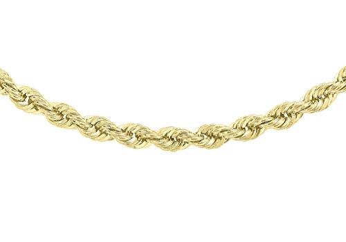 """Chaîne torsadée en or jaune 9carats 4046cm/18"""""""