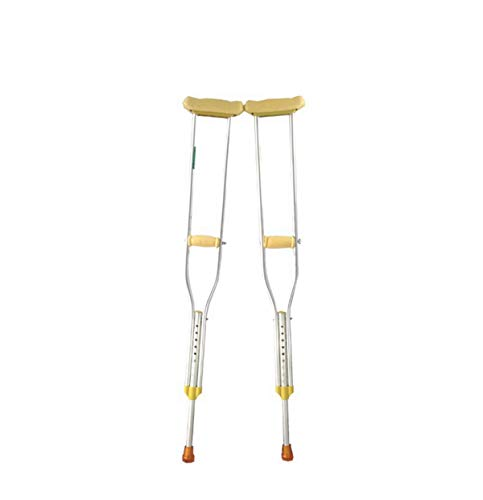 Maple_Leaf Soft Grip Comfort Height Adjustable Cane Hurrycane Aluminum Underarm Crutches 9 Height Adjustable Crutches Adult Crutches,68to74inchestall