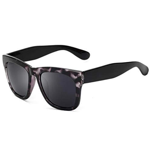 conducción Retro de E Tendencia Aviador Grande de Hombres Cuadro polarizadas UV Gafas sol Vogue Running Nuevas para de YOBWqdT