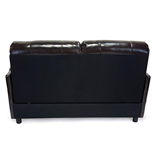 Recpro Charles 60 Rv Sofa Sleeper W Hide A Bed Loveseat Espresso Rv Furniture Best Sofas