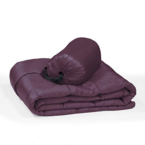 Packable Down Throw Ultra Light 700 Fill Camping Backpacking