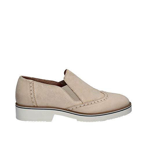 5733 Zapatos Mally Beige Casual Mujeres aRqxFp