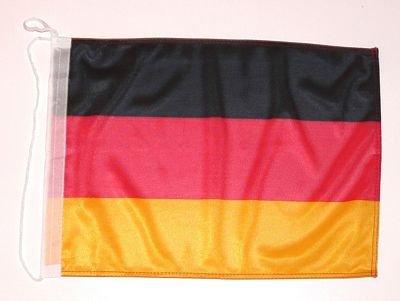 Bootsflagge Deutschland 25 x 40 cm