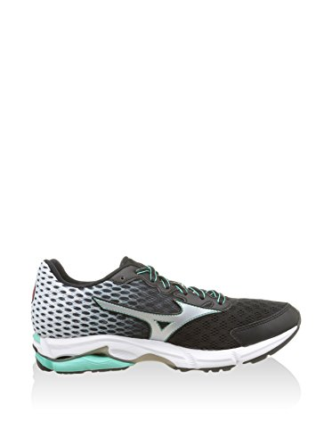 Mizuno Zapatillas Deportivas Wave Rider 18 Narrow Wos Negro / Blanco EU 40.5 (US 9.5)