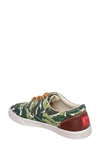 Bucketfeet Savusau Low Top Canvas Leather Lace-Up Mens 10 628pCc