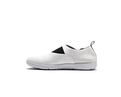 UIN Sintra Lycra Komfort Slip On Sneaker Damen (39, schwarz)