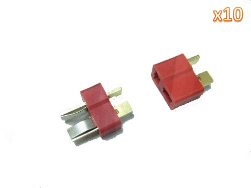 10 Pair T Plug Connectors Deans Style Male and Female Connectors