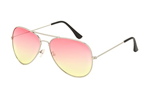 Sunny&Love Unisex Aviator Sunglasses Gradient Lens - Glaases Sun
