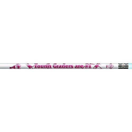 4th Pencils Graders (J.R. Moon Pencil JRM7864BBN PENCILS 4Th Graders Are Number 1, Grade Kindergarten to 1 Age 6