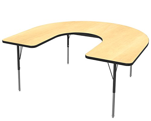 Marco Group Horseshoe Adjustable Activity Table, 60