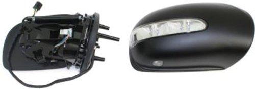 Kool Vue MZ33ER-S Power Folding Heated OE Replacement Passenger Side Mirror for Mercedes-Benz