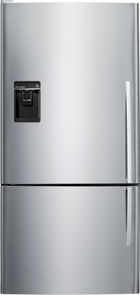 (Fisher & Paykel E522BLXU5: ActiveSmart Fridge - 17.6 cu. ft. Counter Depth Bottom Freezer with ice & water)