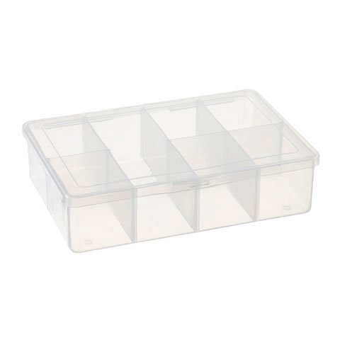 Darice Bulk Buy DIY Empty Box 7 Compartments (3-Pack) 10689B