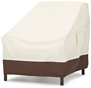 8. Amazon Basics Lounge Deep-Seat Patio Cover