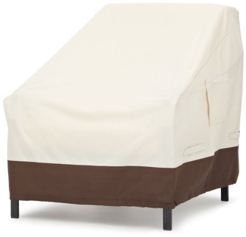 (AmazonBasics Lounge Deep-Seat Outdoor Patio Furniture Cover, Set of 2 )