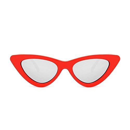 Honhui Fashion Women Cat Eye Shades Integrated UV Candy Colored Sunglasses - Prism Sale Sunglasses