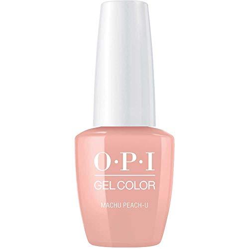 OPI GelColor, Machu Peach-U, 0.5 Fl. Oz. gel nail polish