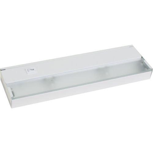 Progress Lighting P7033-30WB 2-Light 120 Volt Xenon Undercabinet, White