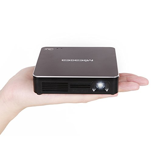 Mileagea Pico DLP Wifi Projector 1080P RGB 80 Lumens Full Hd Miracast Airplay Cinema With USB HDMI Portable Multimedia