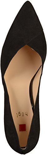 Black Closed Black Heels Women's Toe 0100 Metropolitan HÖGL nOw8Yqx7