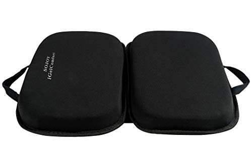 Sojoy iGelComfort Gel Seat Cushion Featured with Memory Foam (A Must-Have Travel Cushion! Smart, Easy Travel Cushion) ()
