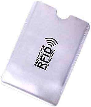 Pink888-10 fundas protectoras para tarjetas de crédito, antiescaneo y antimagnéticas multicolor