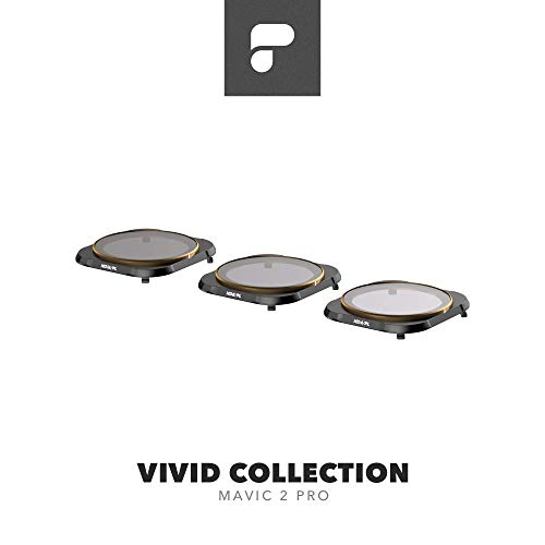 PolarPro Vivid Filter Collection (ND4/PL, ND8/PL, ND16/PL DJI Mavic 2 Filters) for DJI Mavic 2 Pro