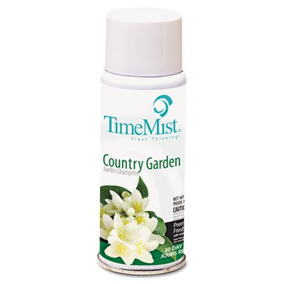 TimeMist Ultra Concentrated Metered Aerosol Fragrance Refill, Country Garden, 2-Ounces (2404TMCA) by Timemist