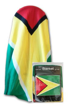 "Guyana - 50"" x 60"" Polar Fleece Blanket"